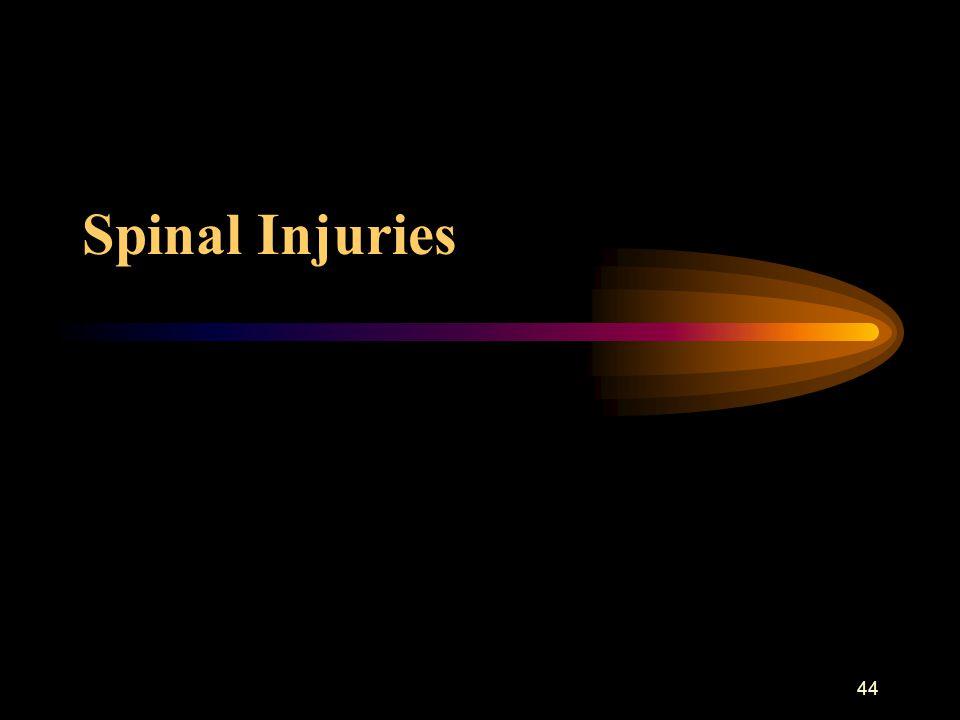 44 Spinal Injuries