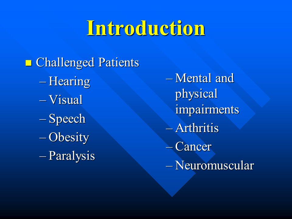 Speech Impairments