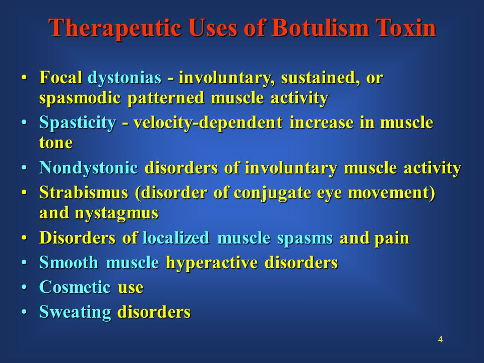 25 Botulism Toxin Mechanism