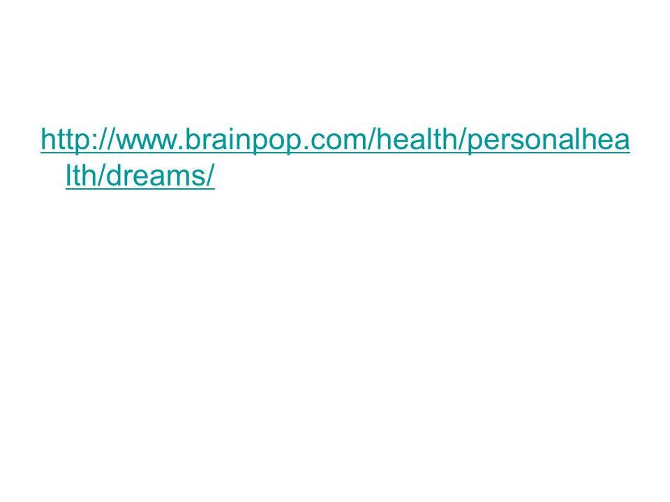 http://www.brainpop.com/health/personalhea lth/dreams/