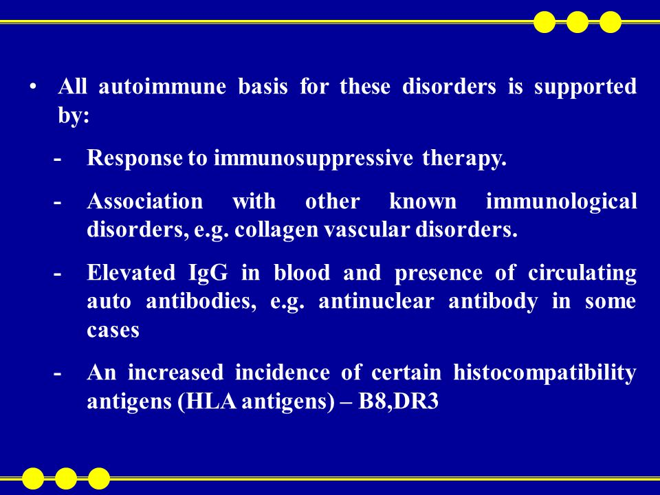 -The reproduction of a similar disorder in laboratory animals by injection of muscle extract with Freund's adjuvant Humoral and cell mediated immune mechanism seem responsible for these disorders but the trigger factor s remain unknown