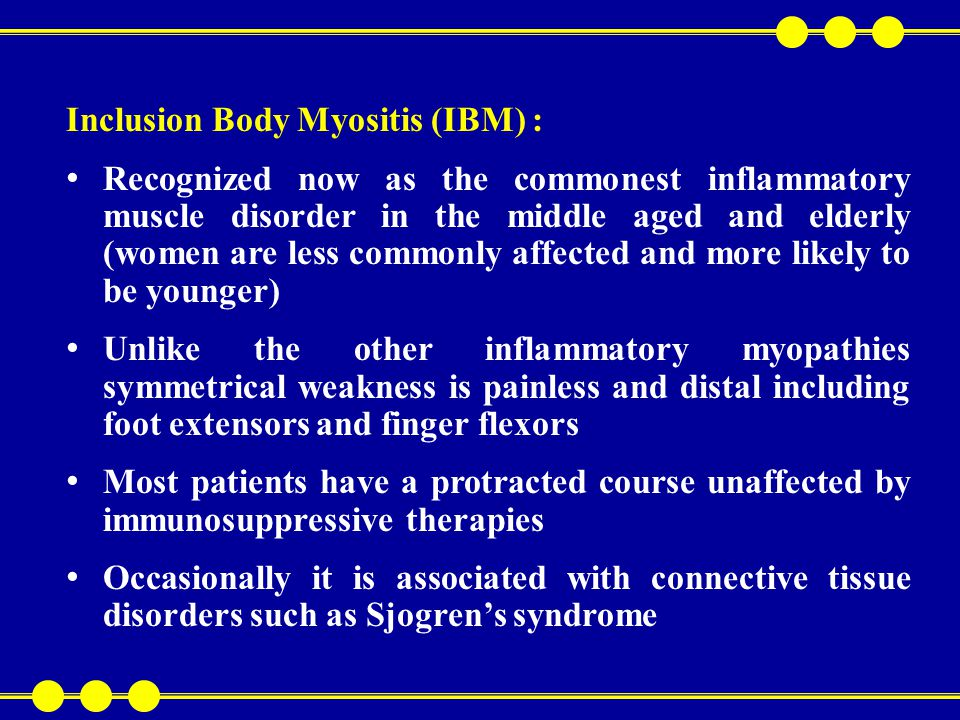Reflexes are brisk, fasciculation and atrophy may be present Distinction must be made from motor neuron disease There is always clinical evidence of thyrotoxicosis in these patients Diagnosis is confirmed by thyroid function studies Hypothyroidism : Hypothyroidism impairs muscle glycolysis and mitochondrial oxidative capacity Proximal weakness involves pelvic girdle more than shoulder