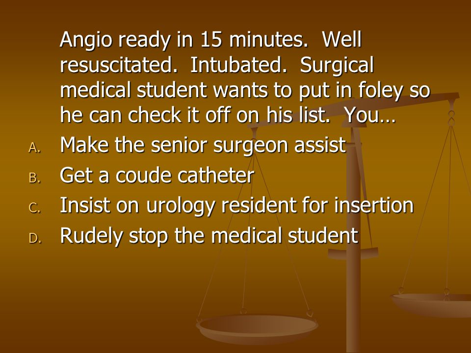 Angio ready in 15 minutes.Well resuscitated. Intubated.