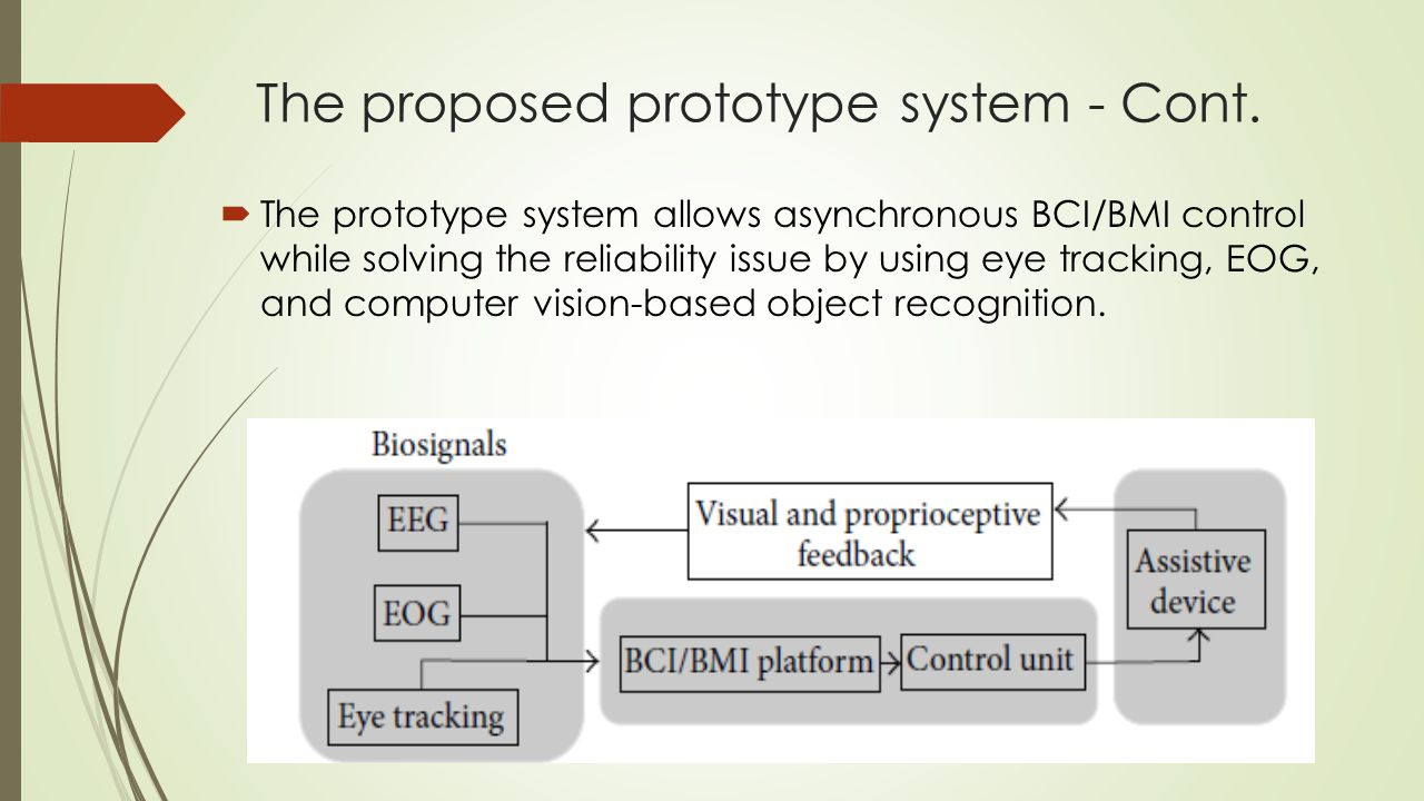 The proposed prototype system - Cont.