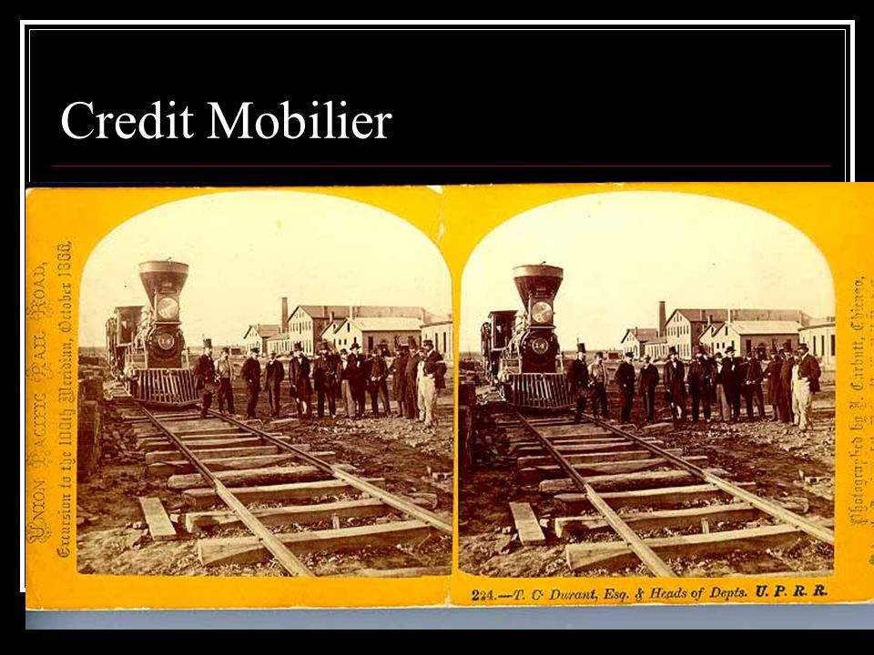 Credit Mobilier