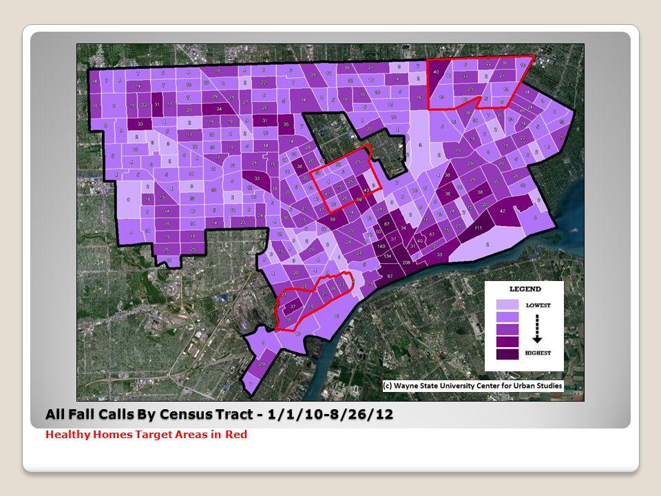 Osborn Target Area All Fall/Not Alert EMS Calls – 1/1/10-8/26/12