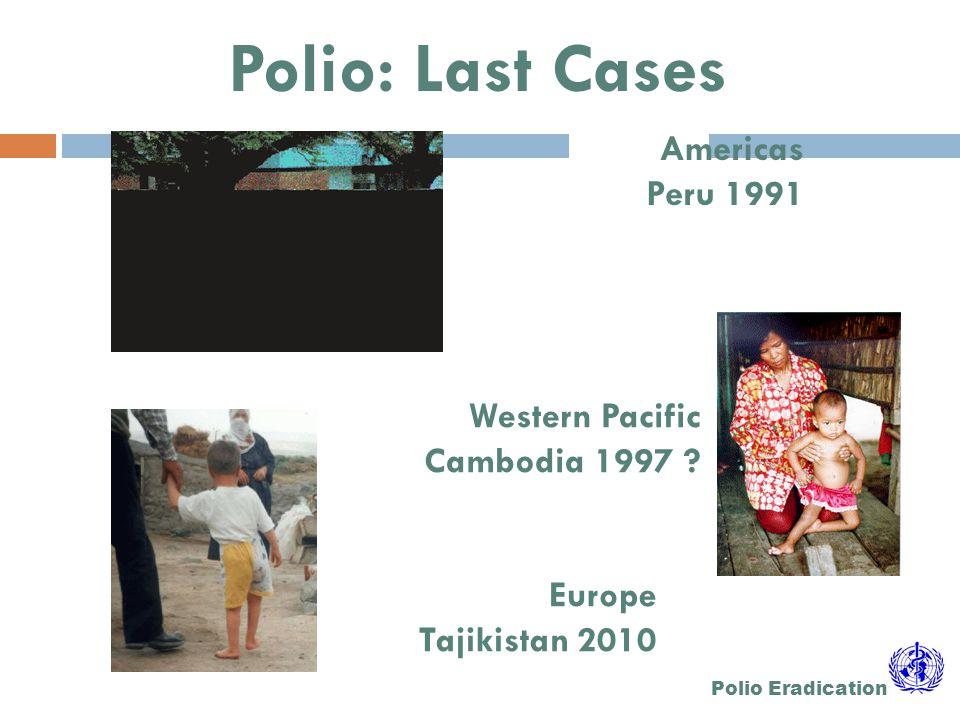 AFP and Poliomyelitis EMR 2012
