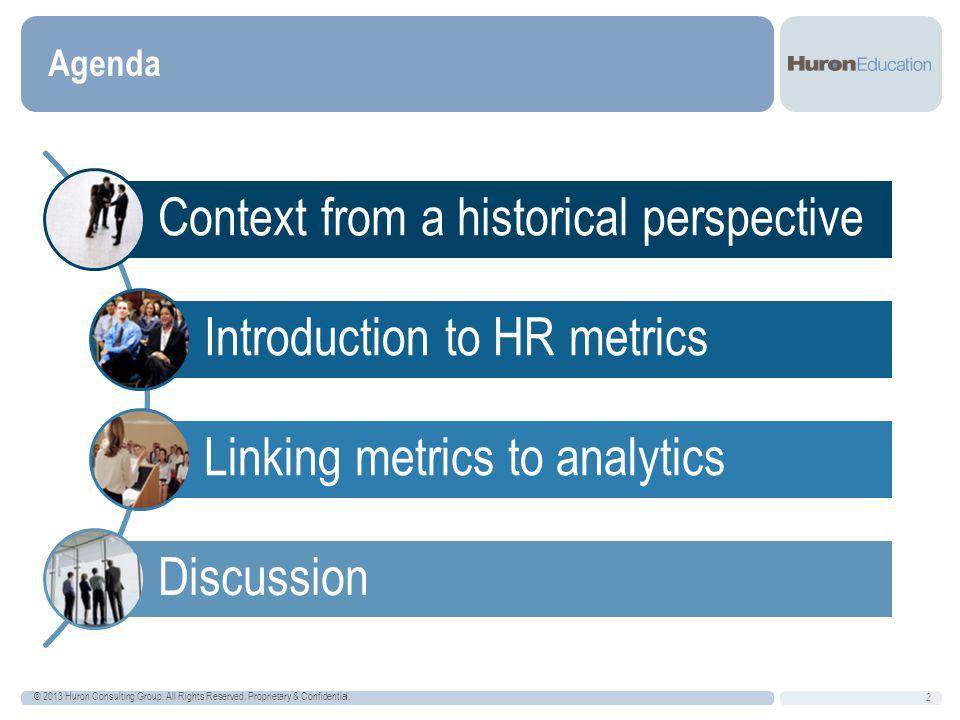 13 DRAFT Linking Metrics to Analytics
