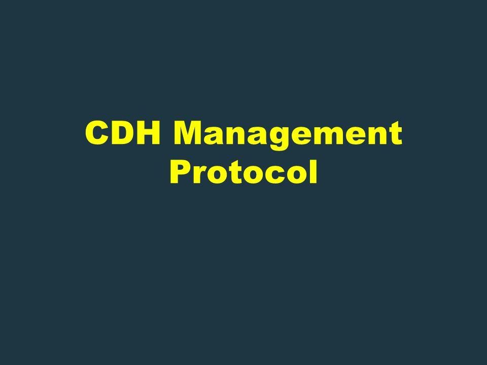 CDH Management Protocol
