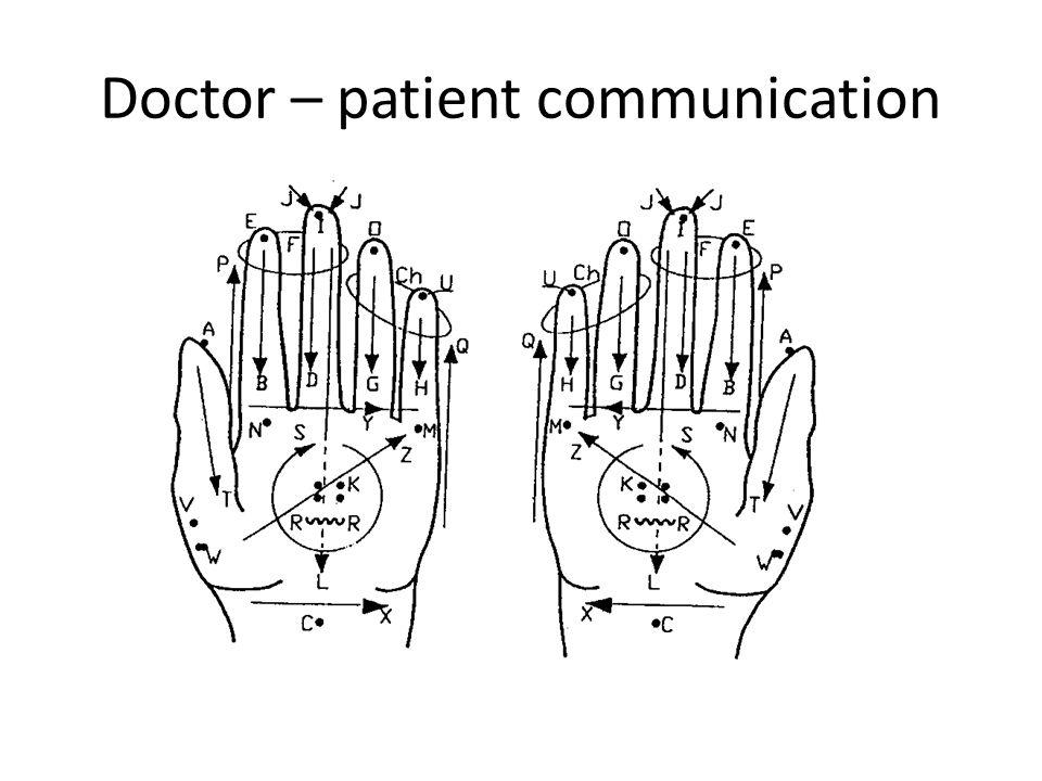 Doctor – patient communication