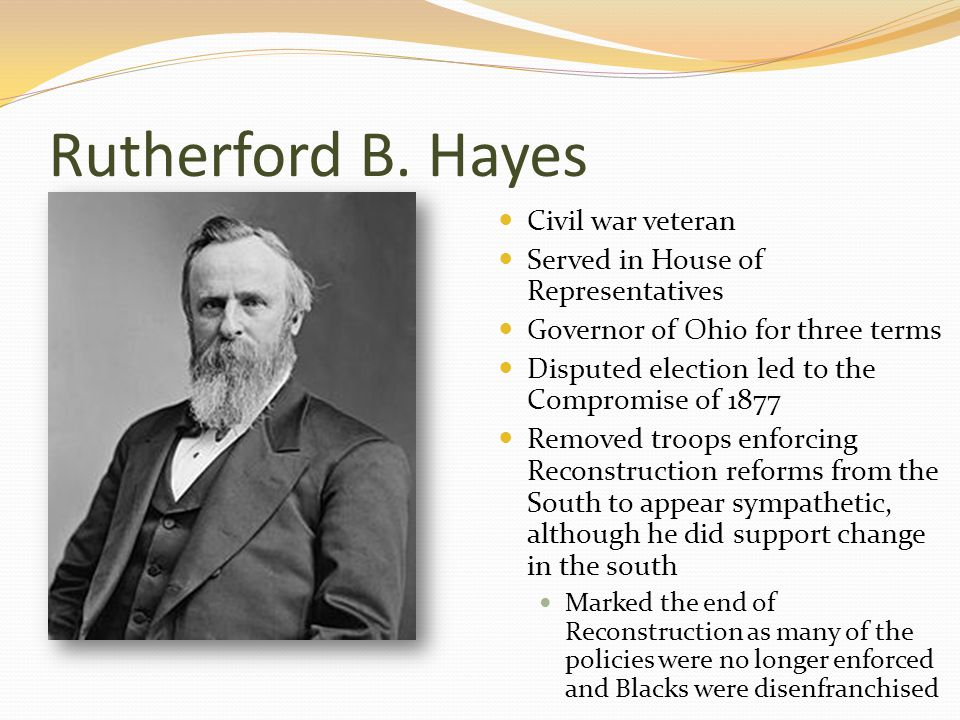 Rutherford B.