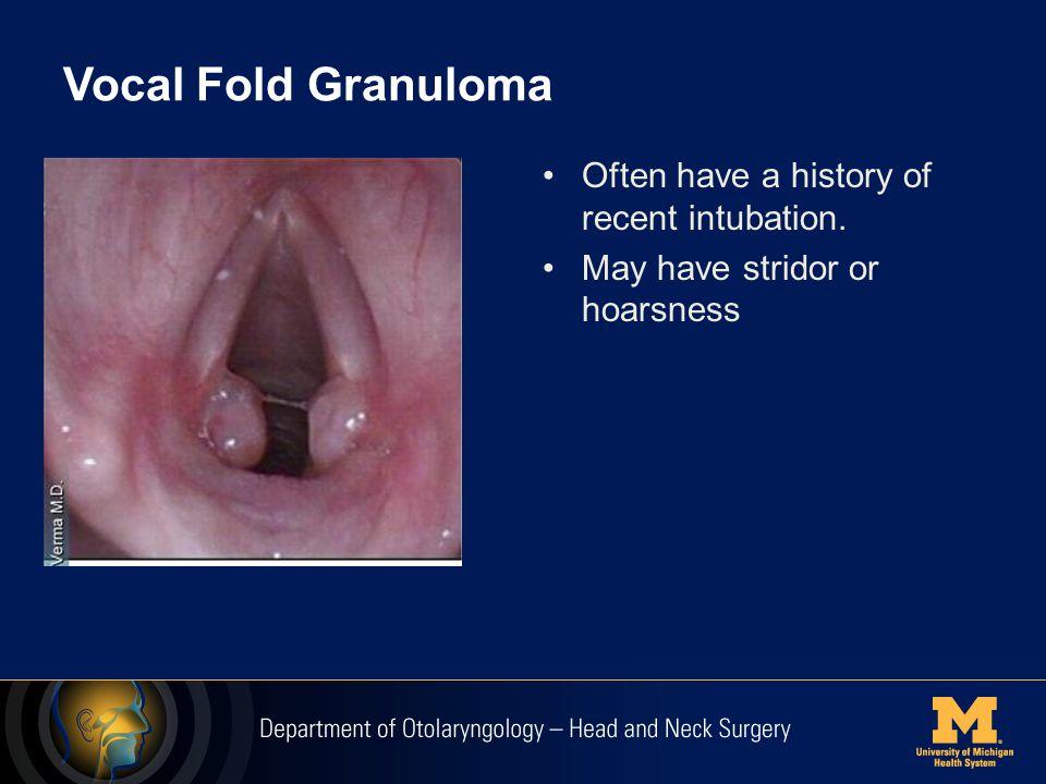 Laryngeal Granuloma