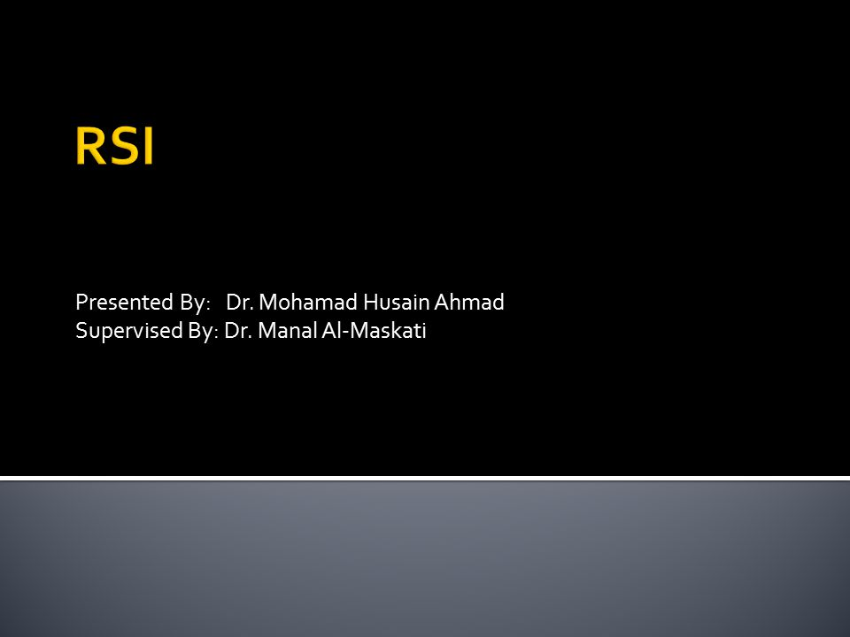 Presented By: Dr. Mohamad Husain Ahmad Supervised By: Dr. Manal Al-Maskati