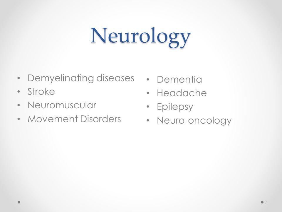 Demyelinating Diseases 3