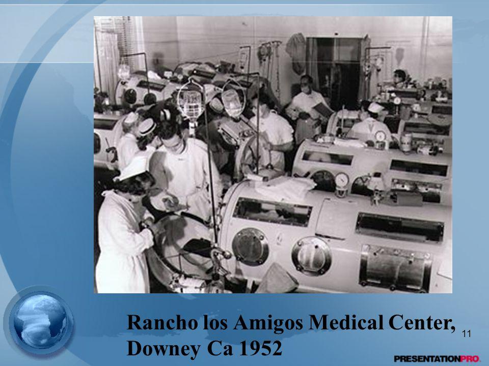 Rancho los Amigos Medical Center, Downey Ca 1952 11