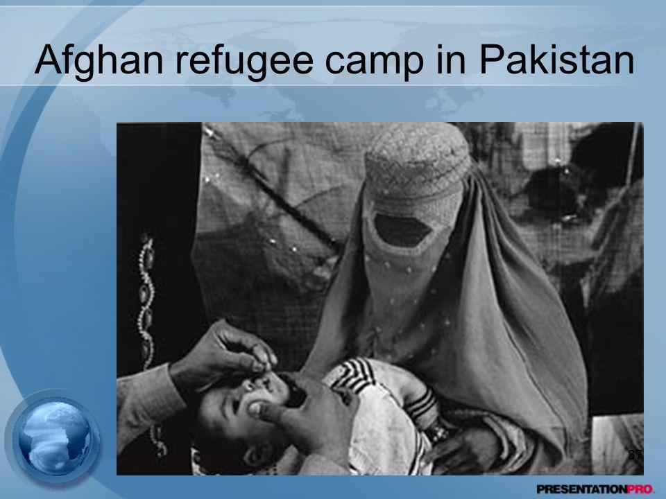 Afghan refugee camp in Pakistan 37