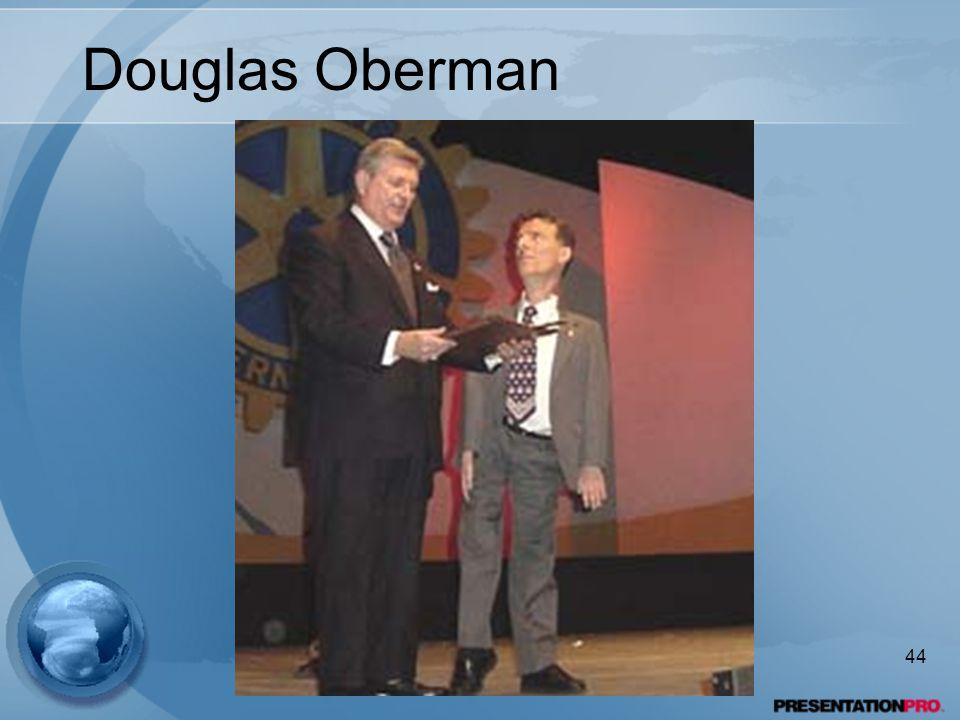 Douglas Oberman 44