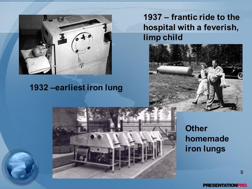 1947 – Salk vaccine work begins 10