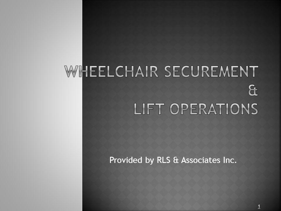 Provided by RLS & Associates Inc. 1