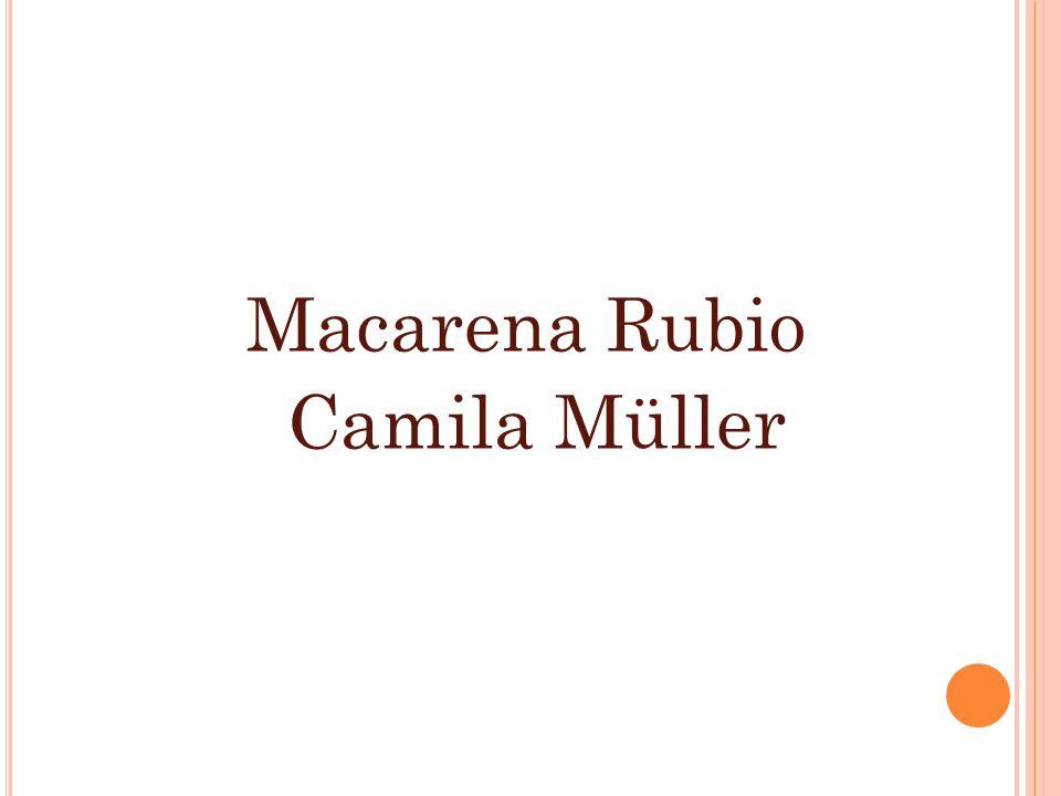 Macarena Rubio Camila Müller