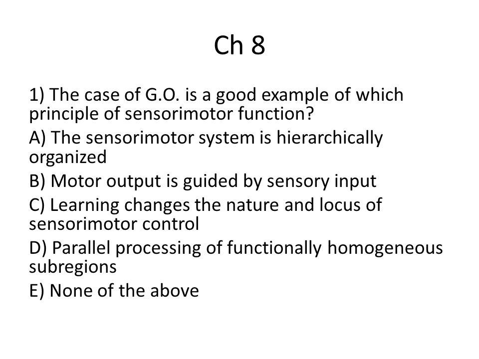 Ch 8 2) Major outputs of dorsolateral prefrontal cortex go to the __________.