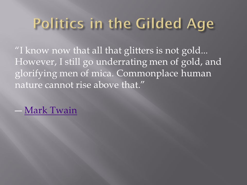 I know now that all that glitters is not gold...