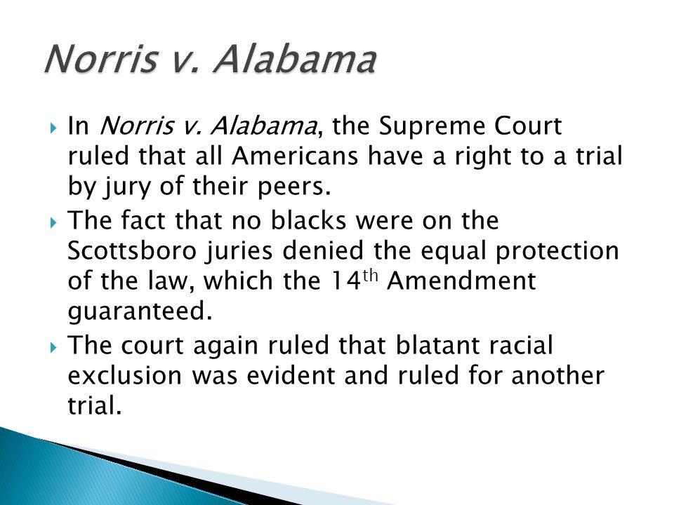  In Norris v.