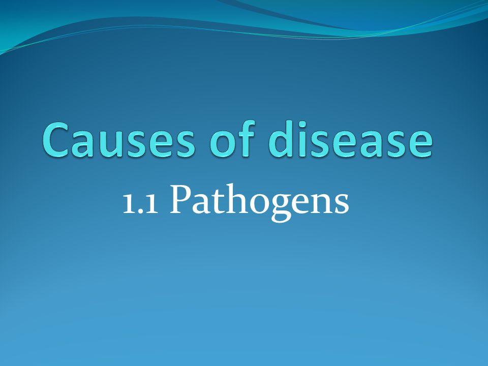 1.1 Pathogens