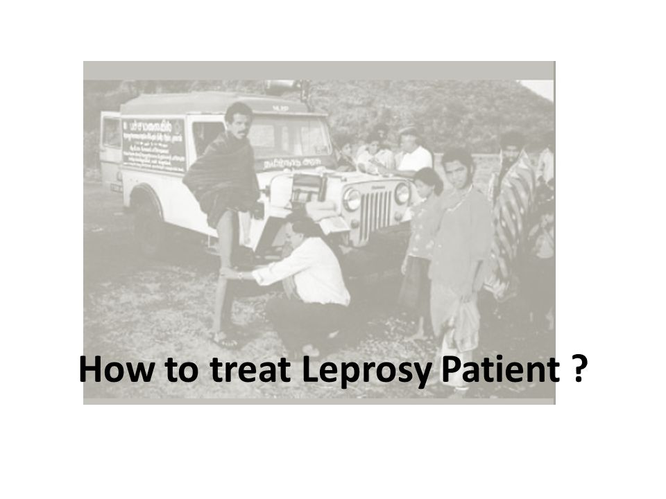 How to treat Leprosy Patient