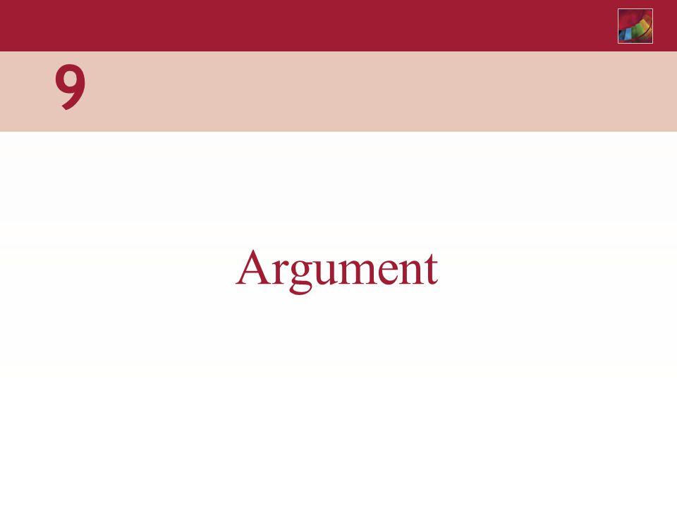 9 Argument