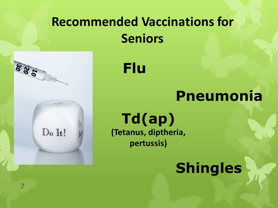 8 Influenza (the flu ) On average, 36,000 Americans die from the seasonal flu each year.