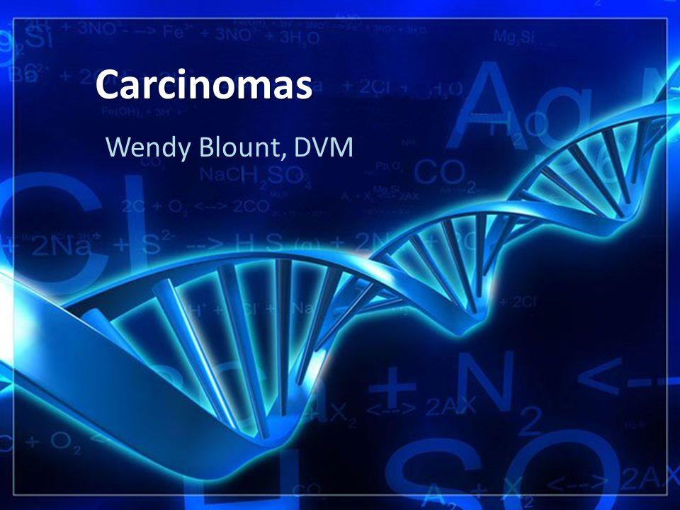 Carcinomas Wendy Blount, DVM
