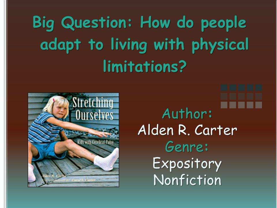 Author: Alden R.