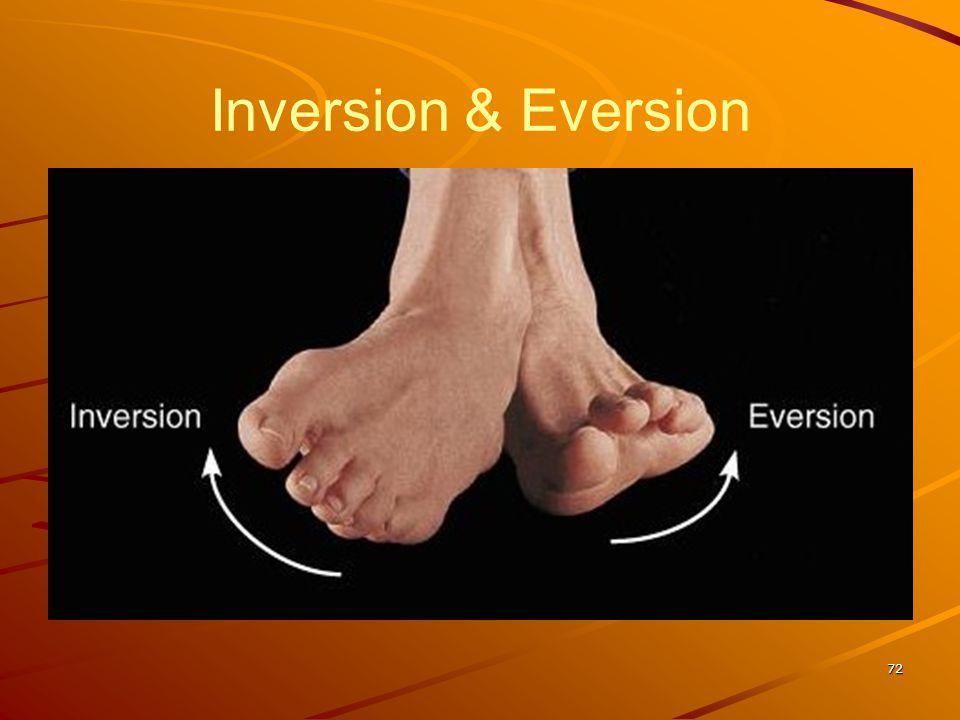Inversion & Eversion 72
