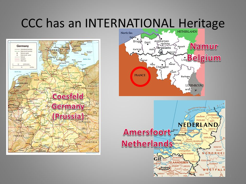 CCC has an INTERNATIONAL Heritage 3