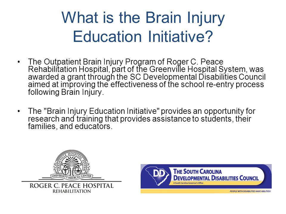 In addition… Contact the Brain Injury Association Become a Certified Brain Injury Specialist Form a TBI team Check out a tool kit Consider your own continuing education