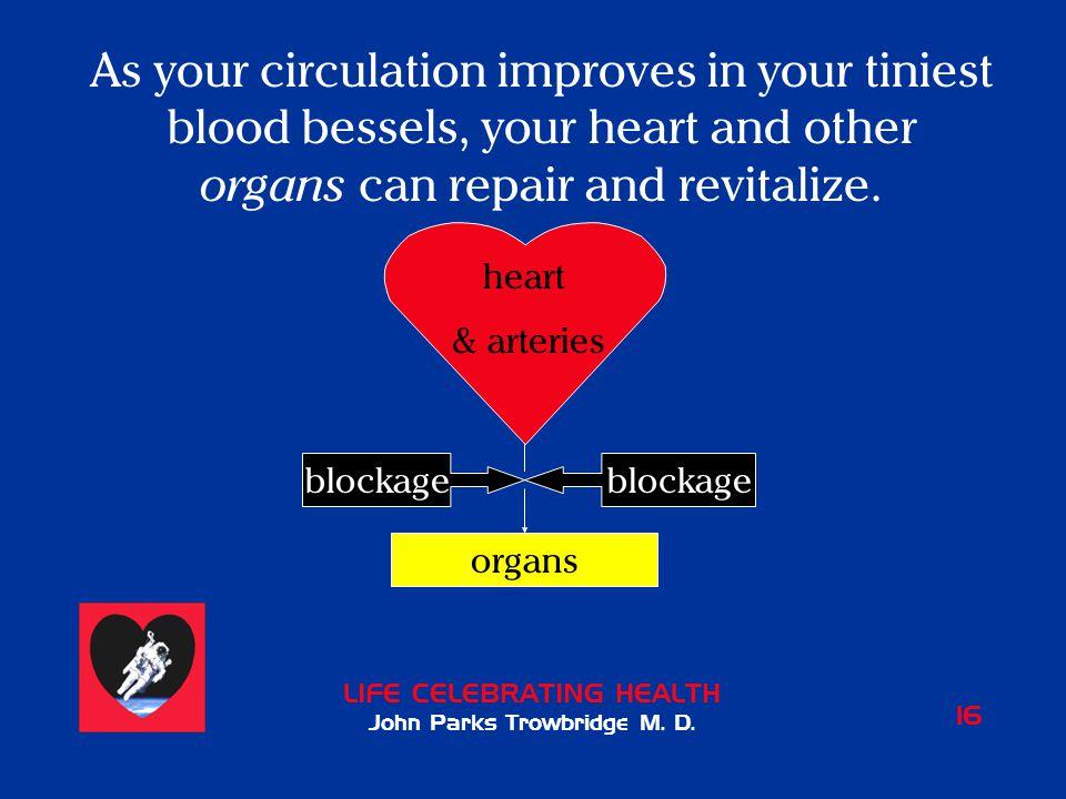 LIFE CELEBRATING HEALTH John Parks Trowbridge M. D.