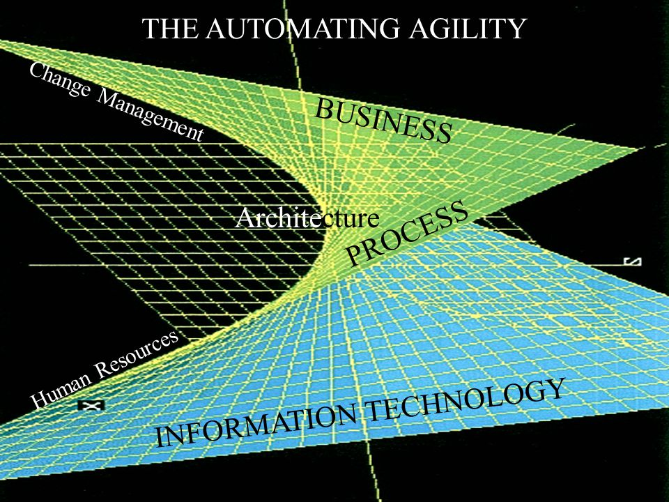 ©Amit Mitra & Amar Gupta BUSINESS INFORMATION TECHNOLOGY PROCESS Architecture THE AUTOMATING AGILITY Change Management Human Resources