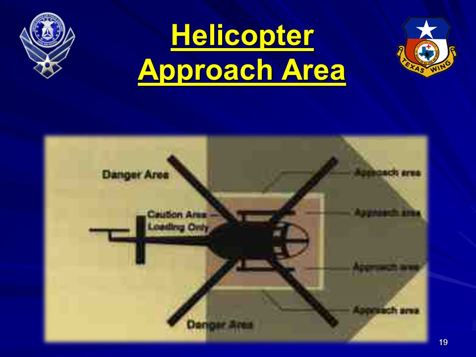 19 Helicopter Approach Area