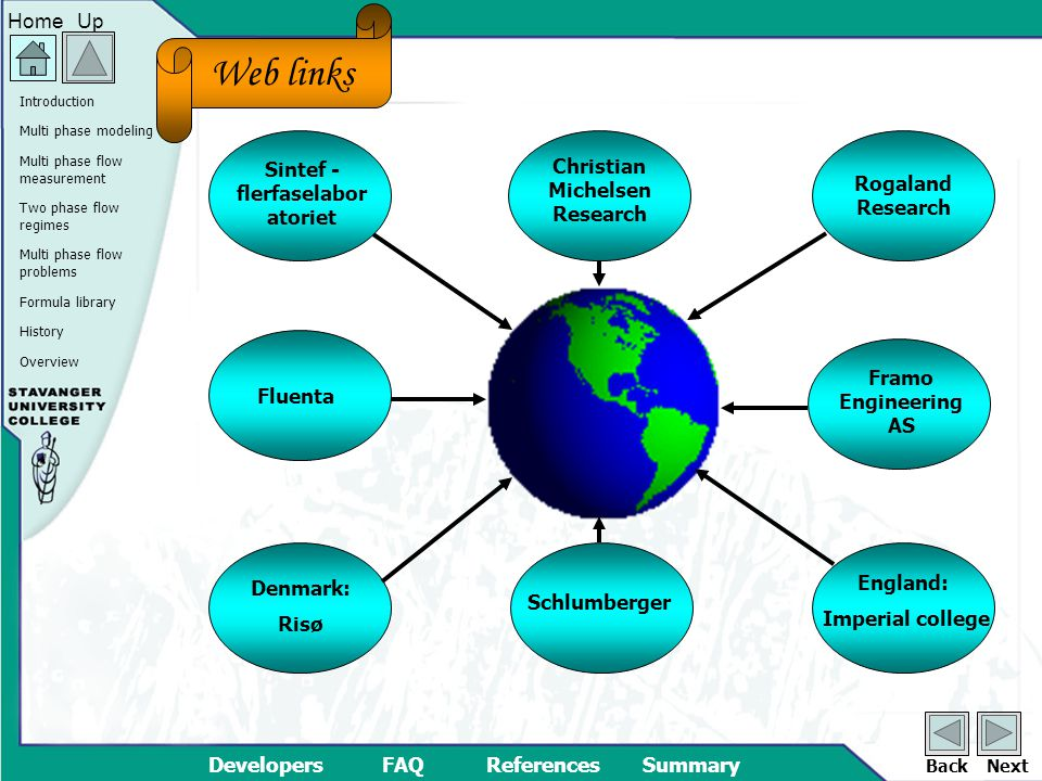 Overview UpHome DevelopersFAQReferencesSummary Multi phase modeling Multi phase flow measurement Two phase flow regimes Multi phase flow problems Formula library History Introduction BackNext History BLA This site is not yet finished
