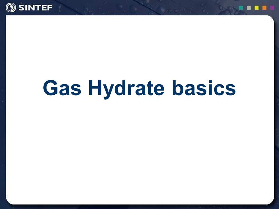 1 Gas Hydrate basics