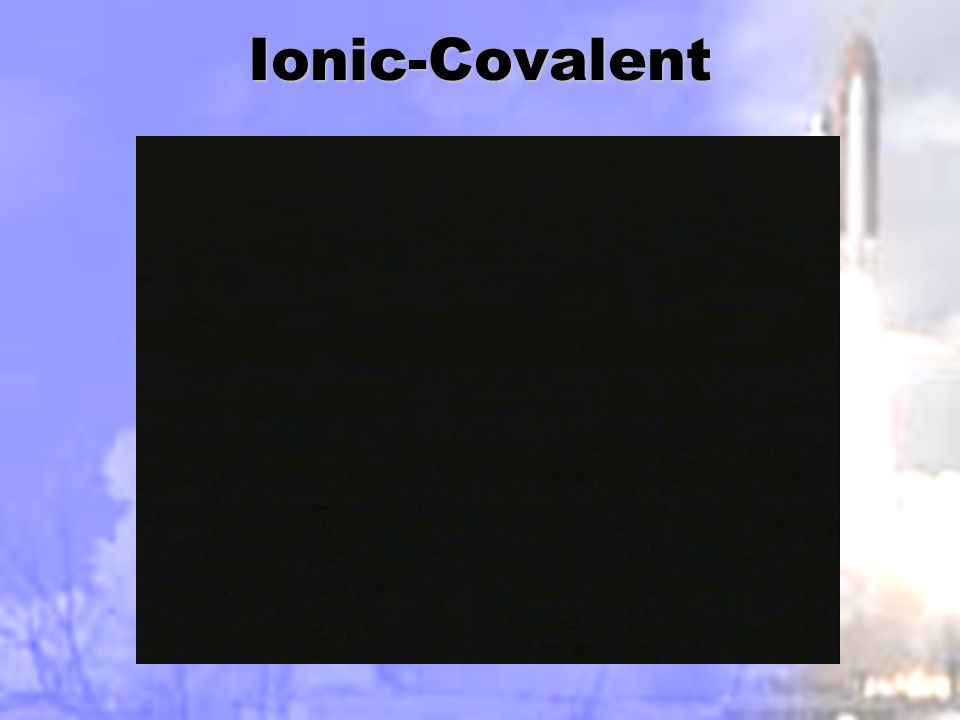 Ionic-Covalent