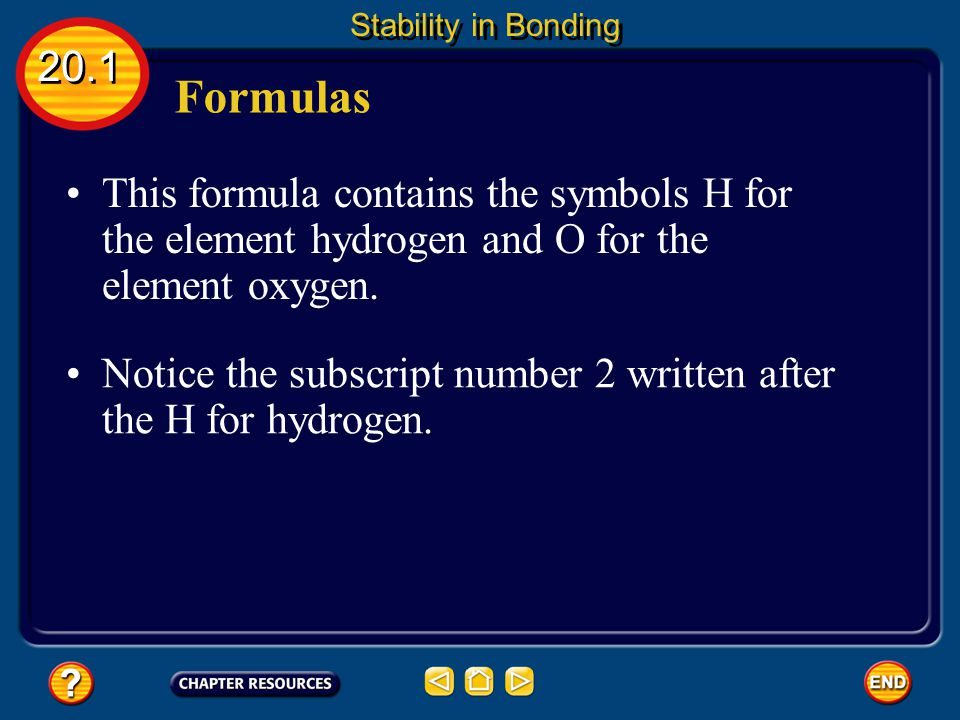 Writing Names 20.3 Writing Formulas and Naming Compounds The table lists several polyatomic ions.