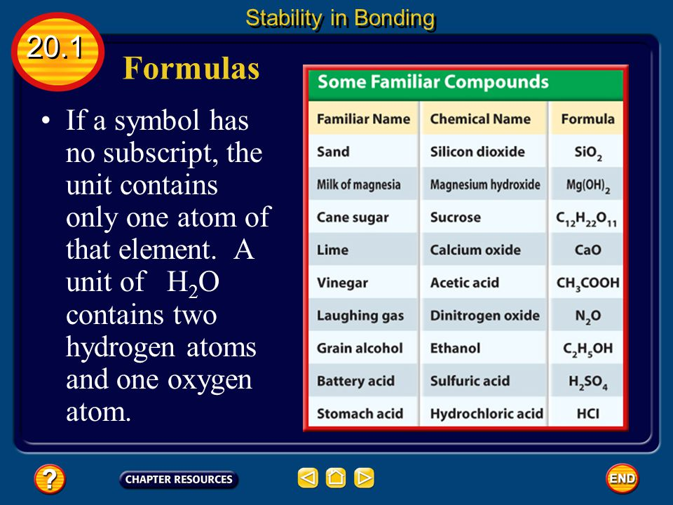 20.3 Section Check Question 2 A __________ is a compound composed of two elements.