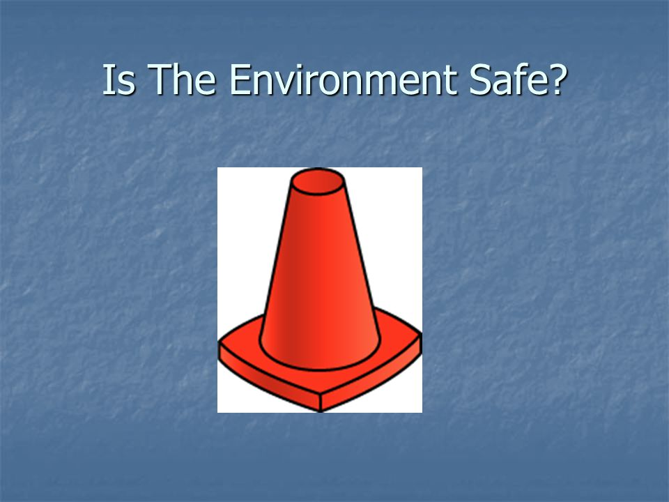 Is The Environment Safe?