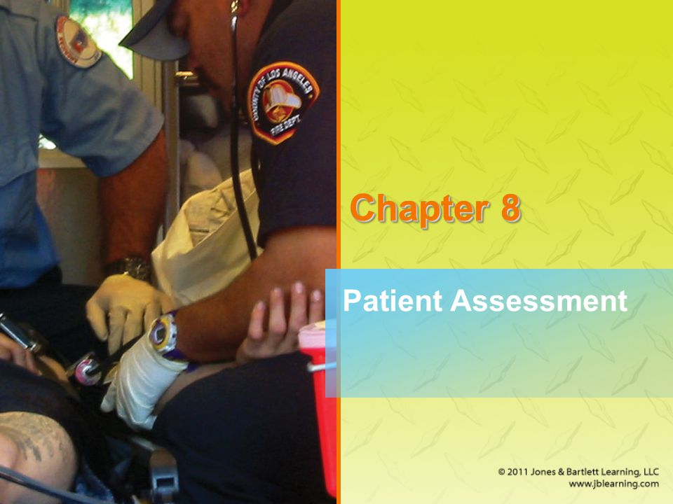 A Word About Medical and Trauma Patients (2 of 2) When examining medical patients, follow the basic assessment sequence.