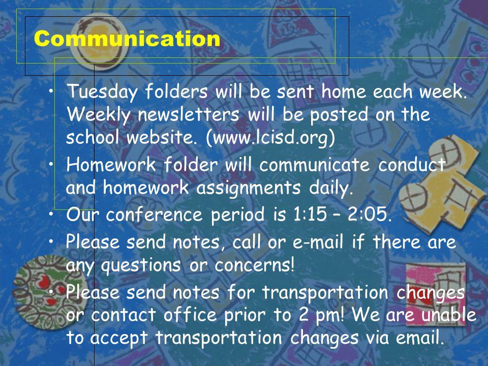 Newsletters Beginning on Sept.