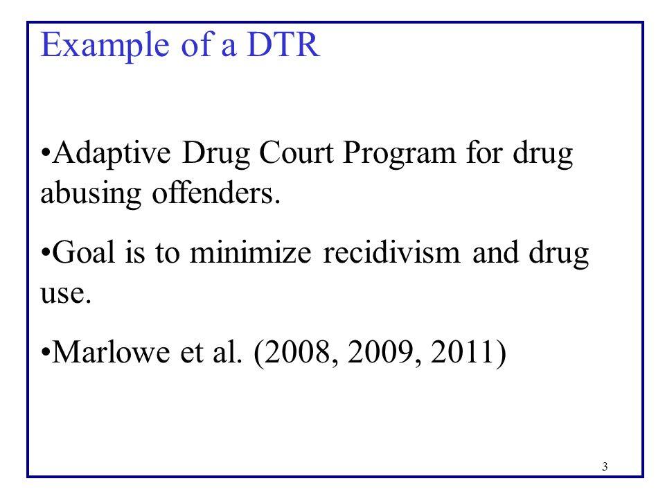 4 Adaptive Drug Court Program