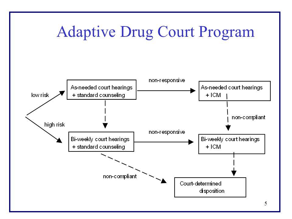 5 Adaptive Drug Court Program