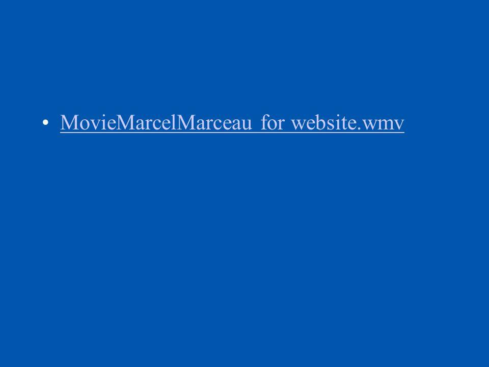 MovieMarcelMarceau for website.wmv
